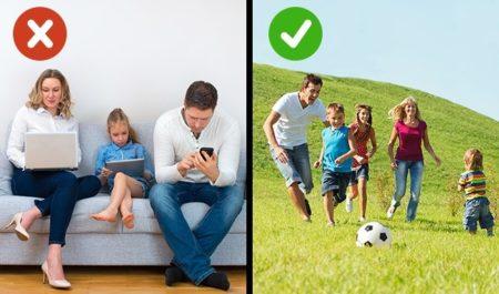 Гаджеты как замена родителей