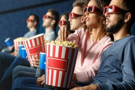 В кино с попкорном