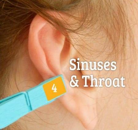 заболевание горла и носа