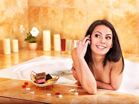 очищающие ванны