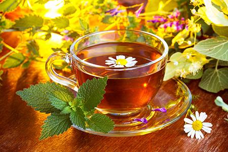 травяной чай для женщин